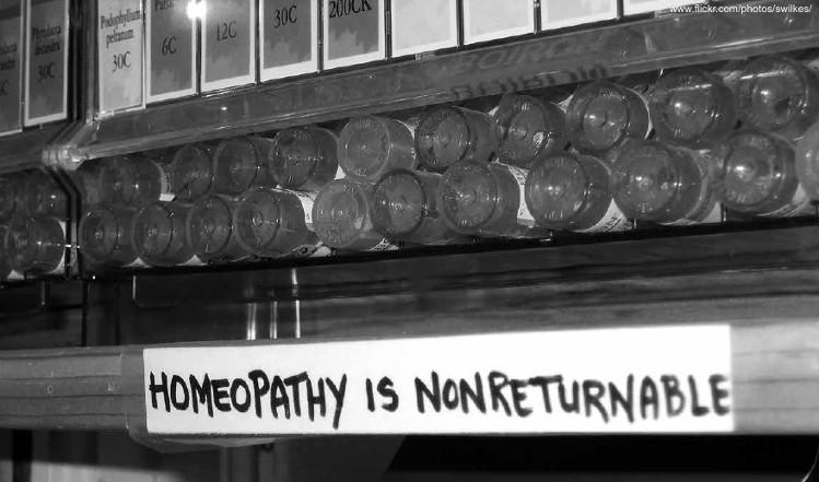 Homeopatía no retornable